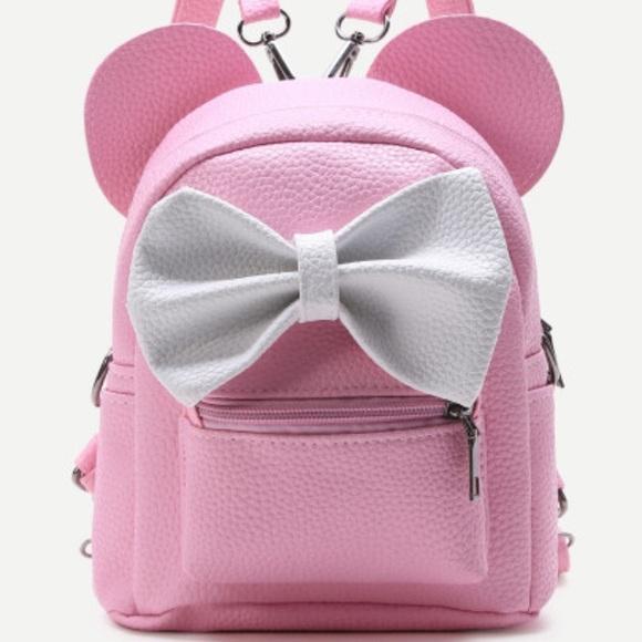 8a2a28e5bec RESTOCK SOON Minnie Disney Mickey Ear Backpack